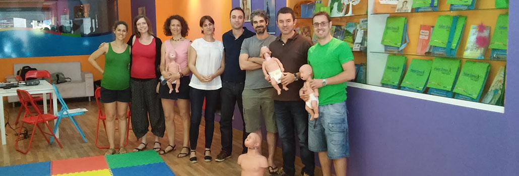 Formación RCP y primeros auxilios para padres