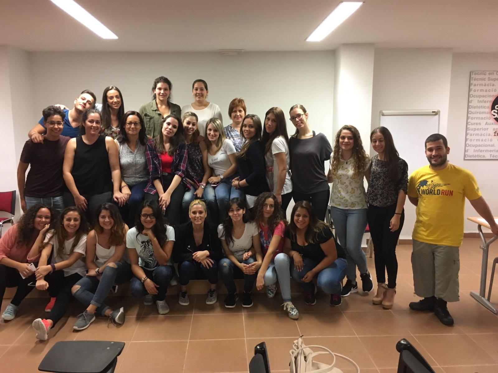 Curso RCP más DESA Alumnos Cooperativa Salus de Castellón