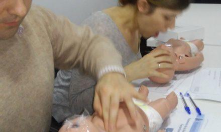 Curso RCP pediátrica para Padres en MDL Oficinas