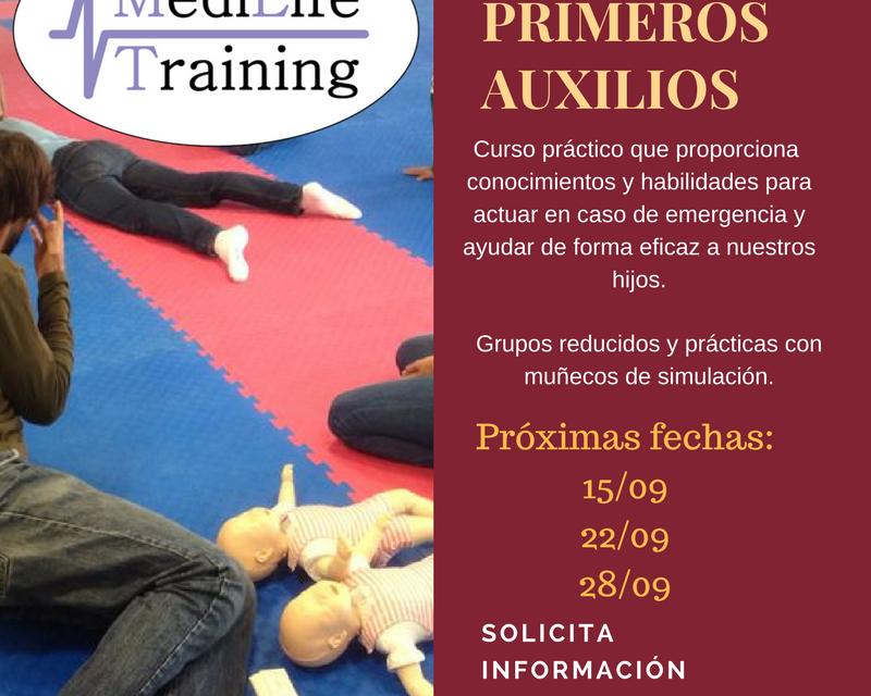 Empezamos septiembre con los nuevos cursos de primeros auxilios